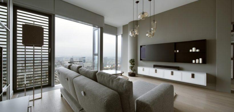 Современная квартира из Варшавы от Hola Design