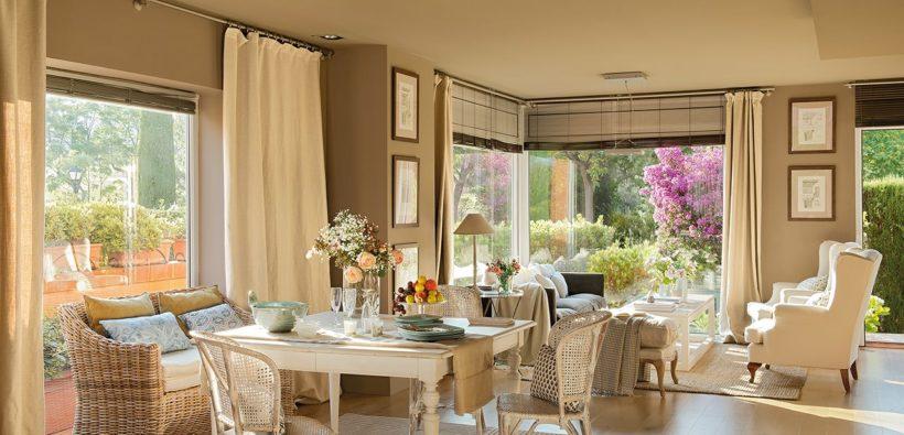 Дом с нежным интерьером в стиле прованс