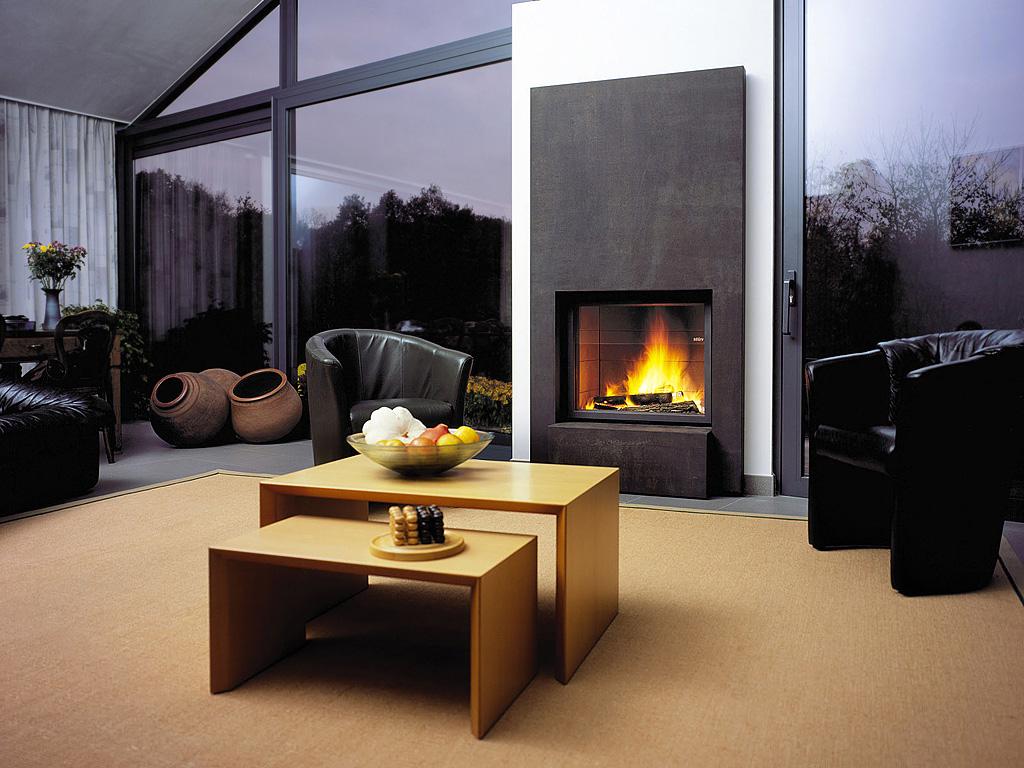 дизайн кімнат з каміном