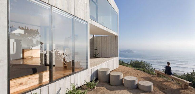 Кубовидный модерновый дом от Panorama + wmr аrchitects