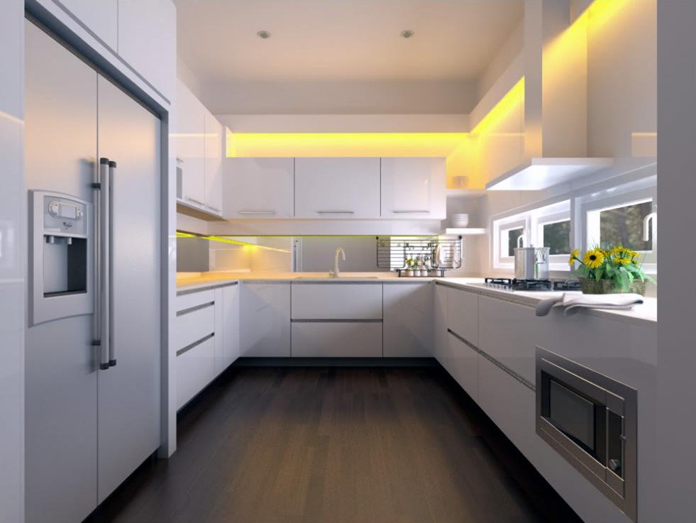 інтер єр кухні в квартирі