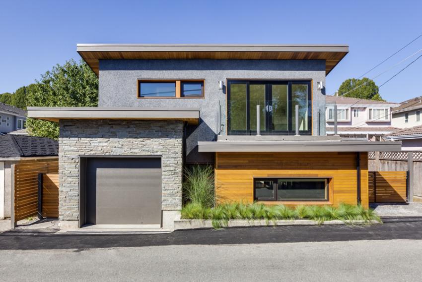 фасады домов фото