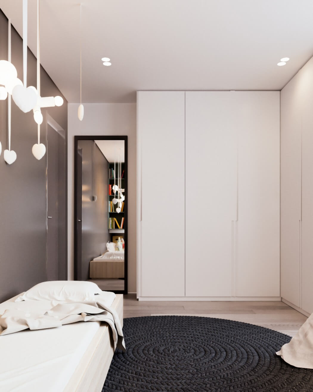 Классический дизайн однокомнатной квартиры