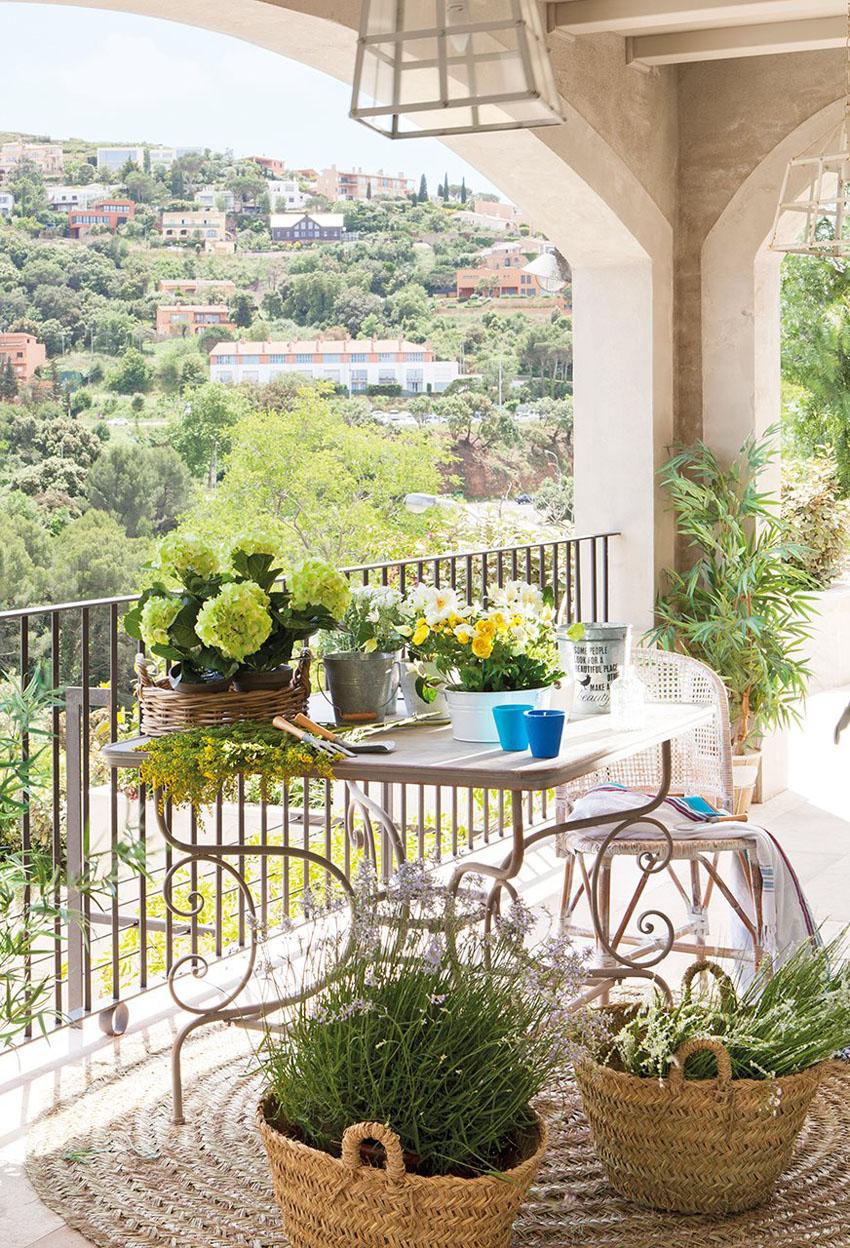 оформлення балкон