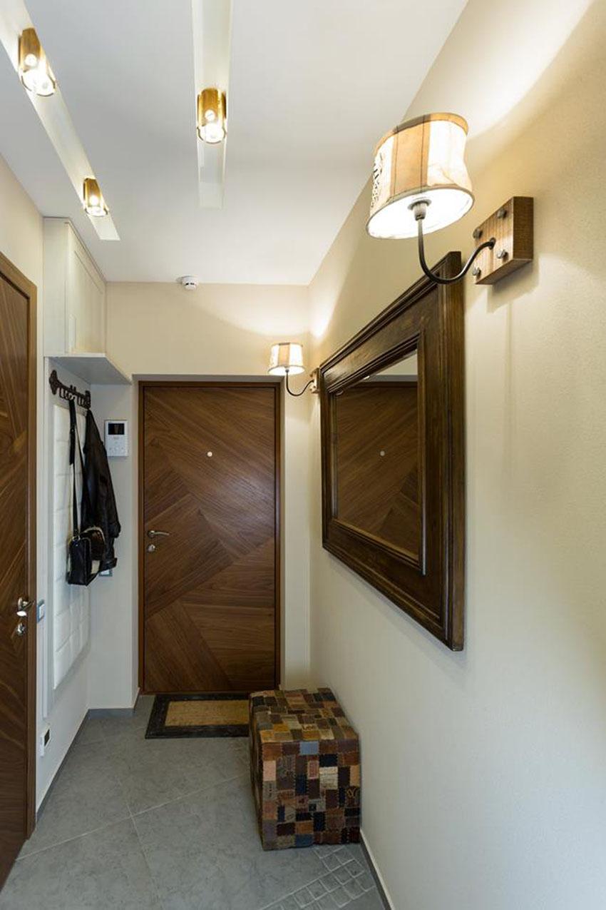 коридор в однокомнатной квартире дизайн фото именно