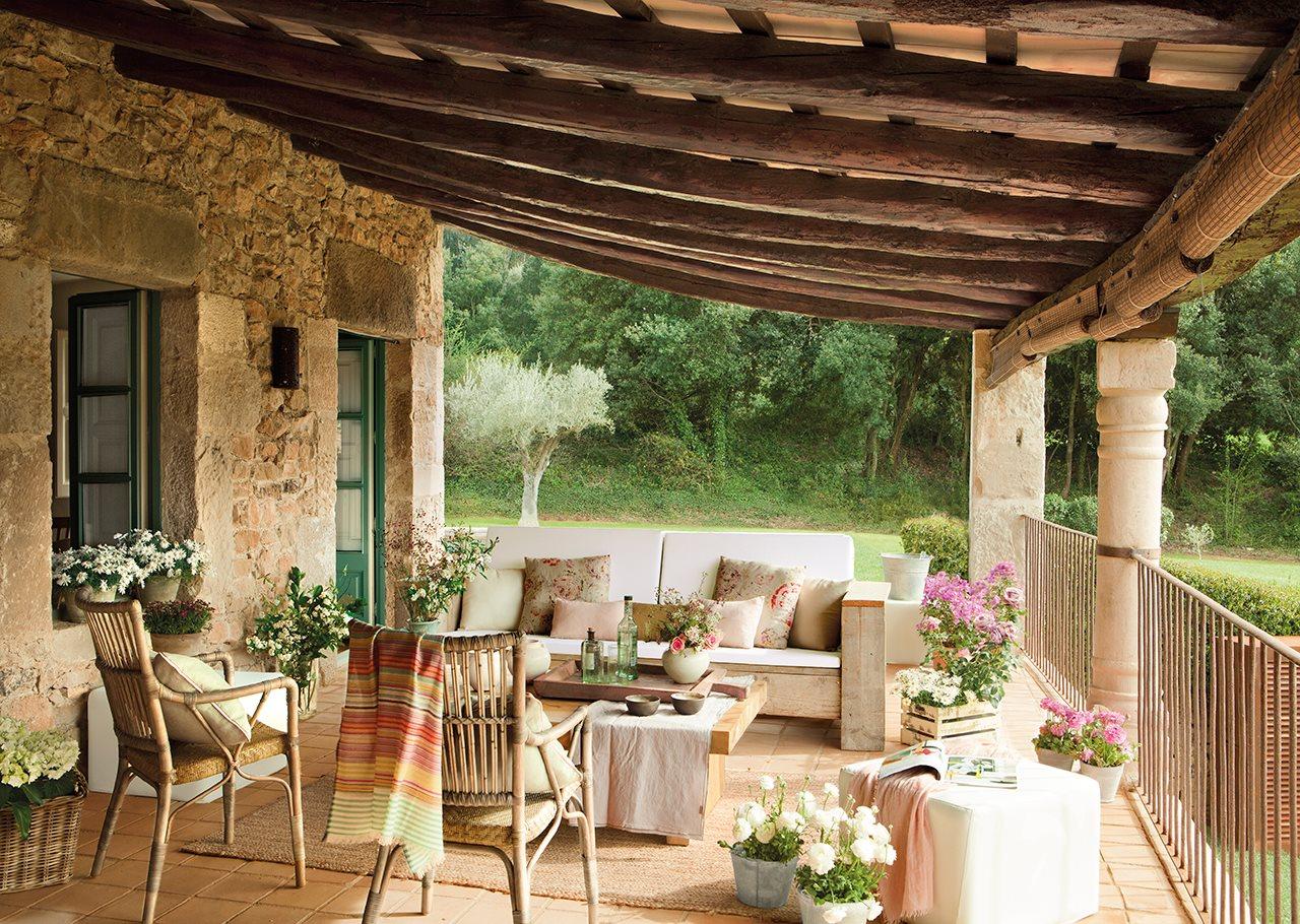 Романтичный сельский домик из Каталонии
