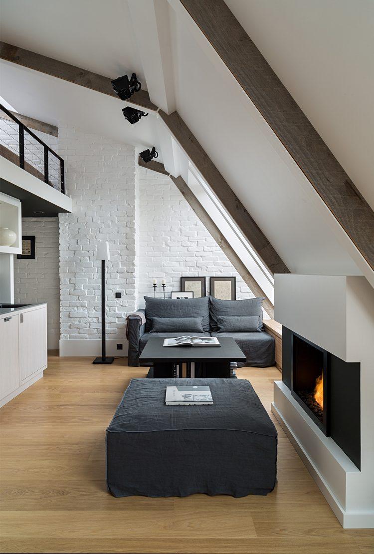камин в квартире