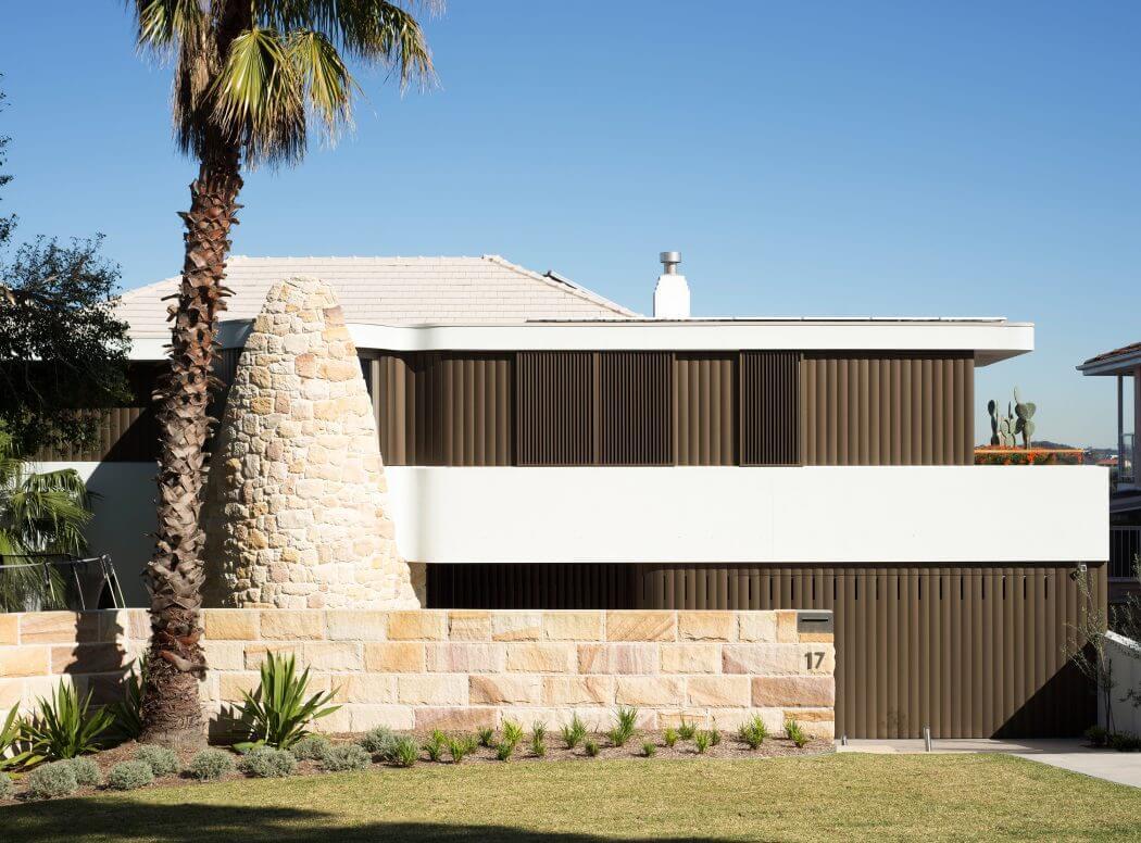 Воздушный интерьер от Luigi Rosselli Architects из Австралии