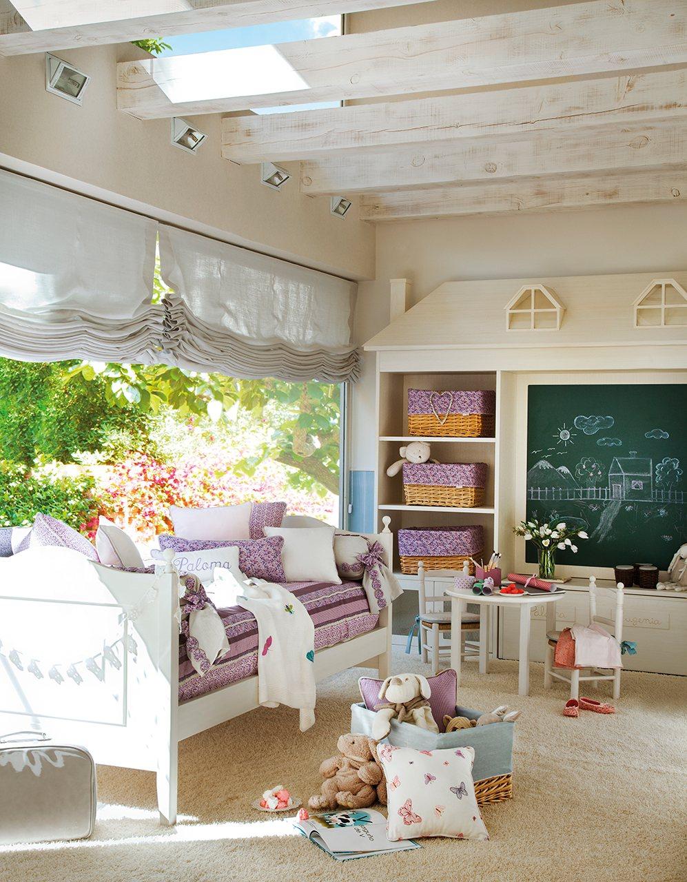 6 детских комнаты с намеком на учебу