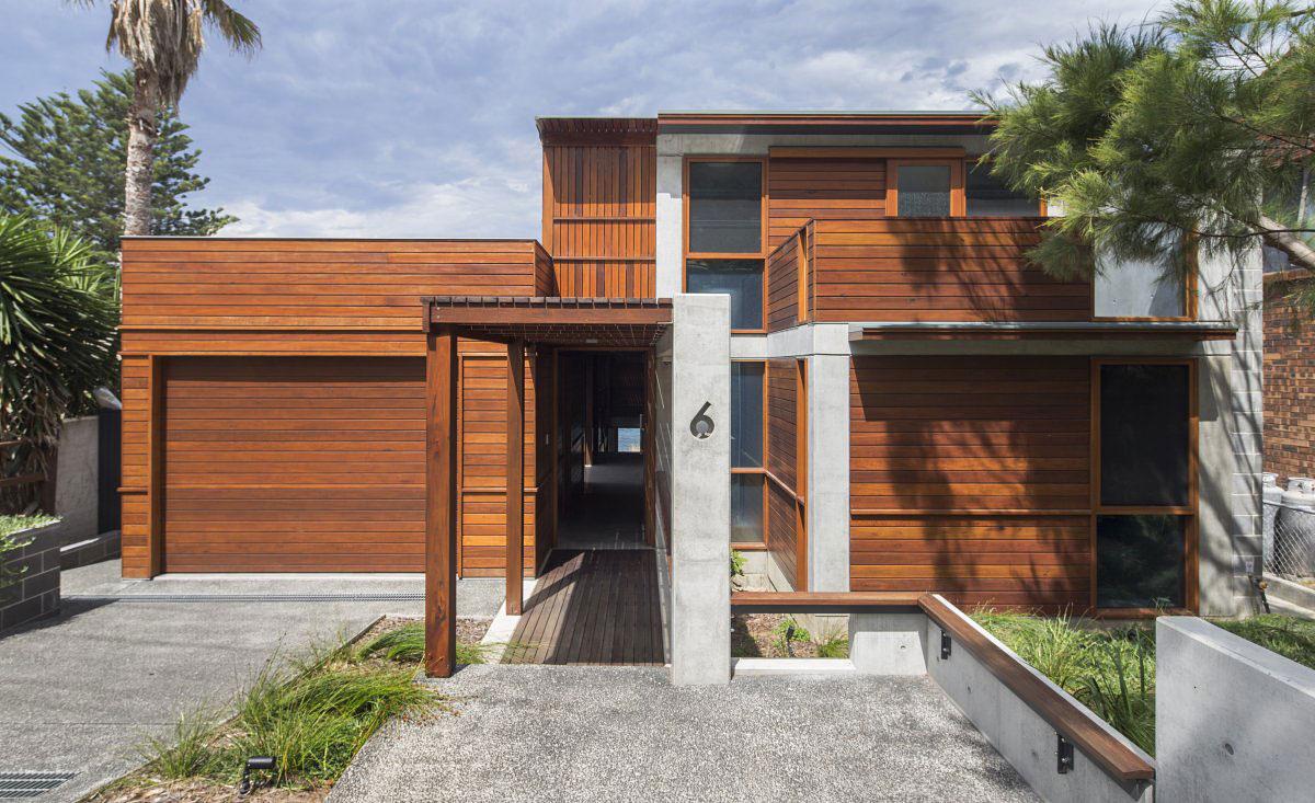 Дом на побережье Австралии
