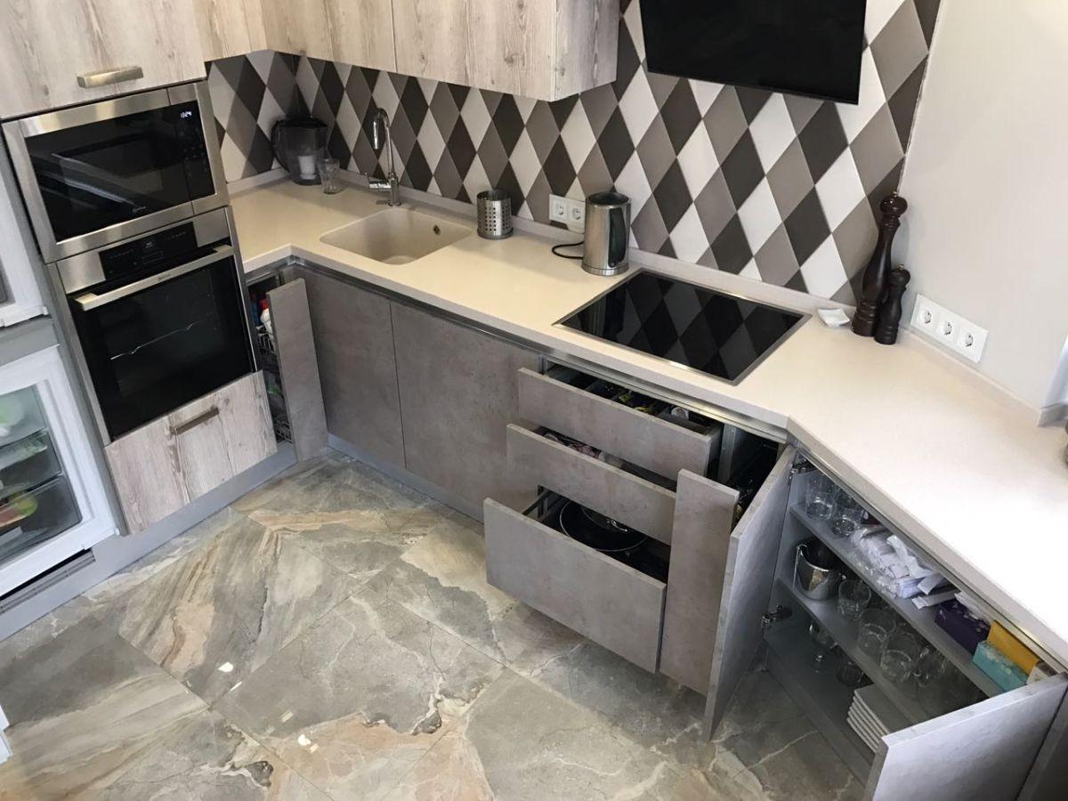 ремонт для маленькой кухни