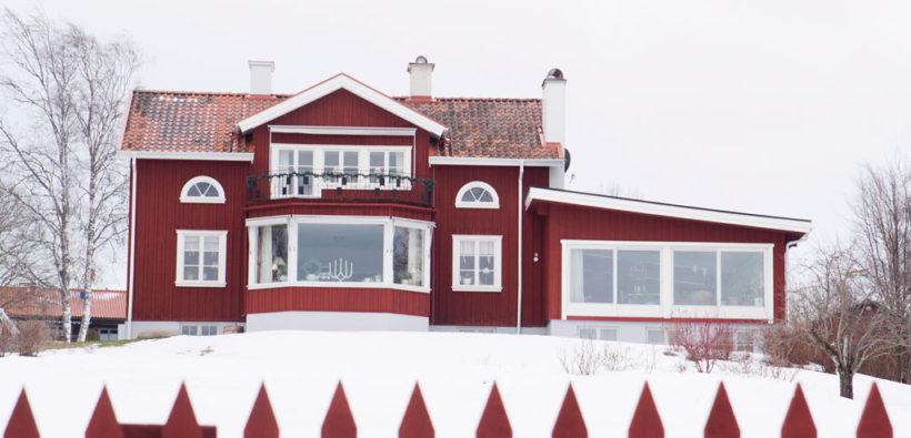 Очаровательный рождественский дом