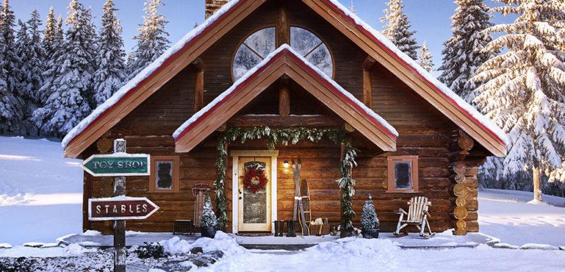 Он существует! дом деда мороза на северном полюсе ❉
