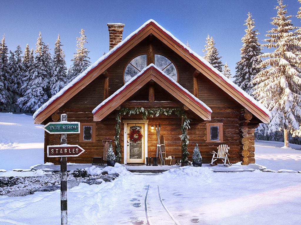 Він існує! Будинок Діда Мороза на Північному полюсі ❉