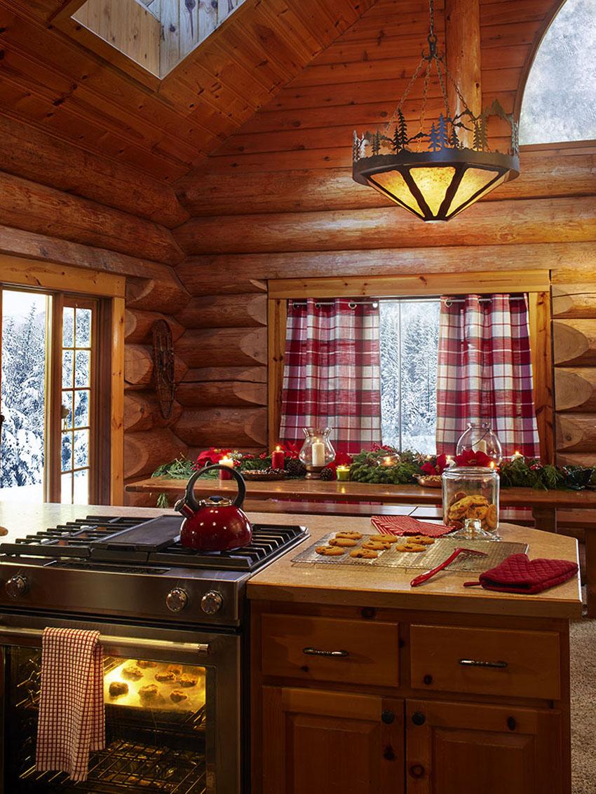 шале кухня