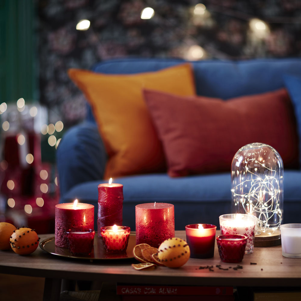 украсить дом к новому году