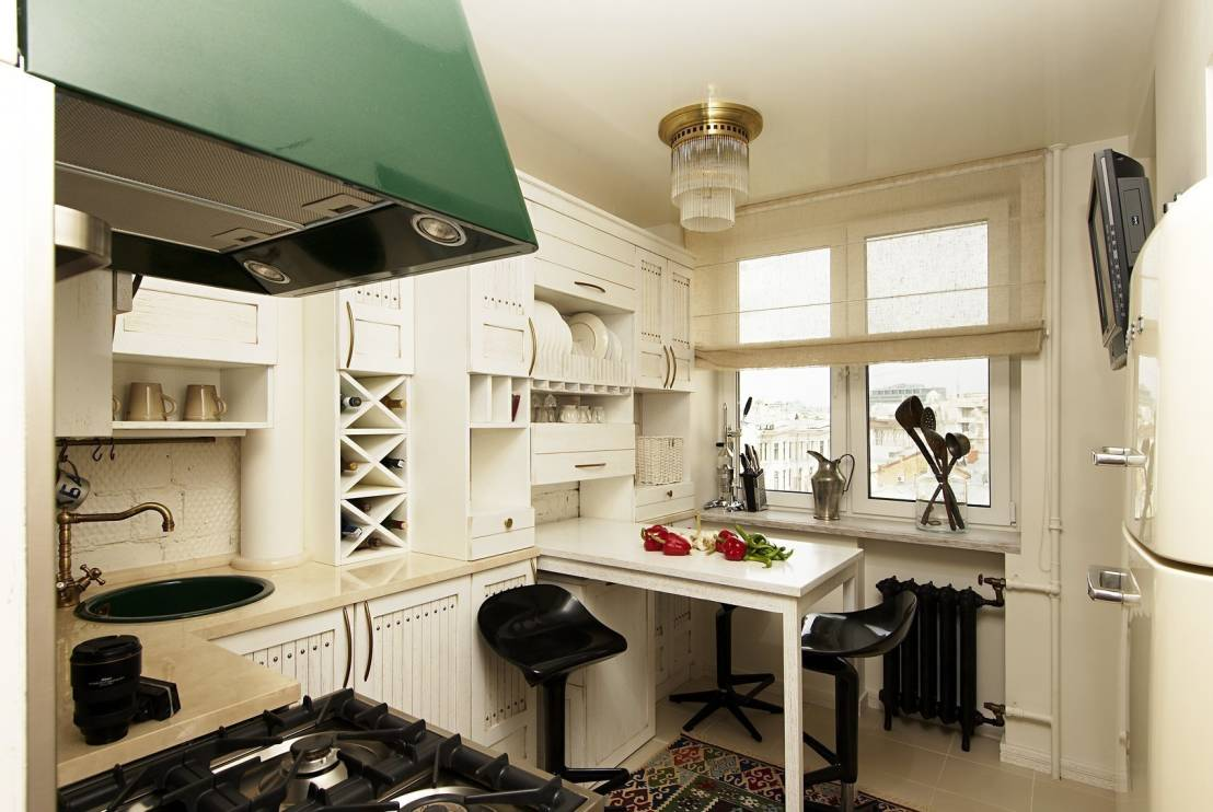дизайн невеликої кухні