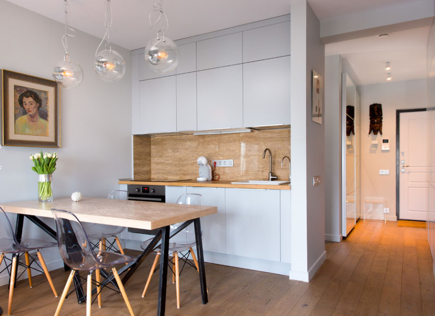кухня-студия дизайн