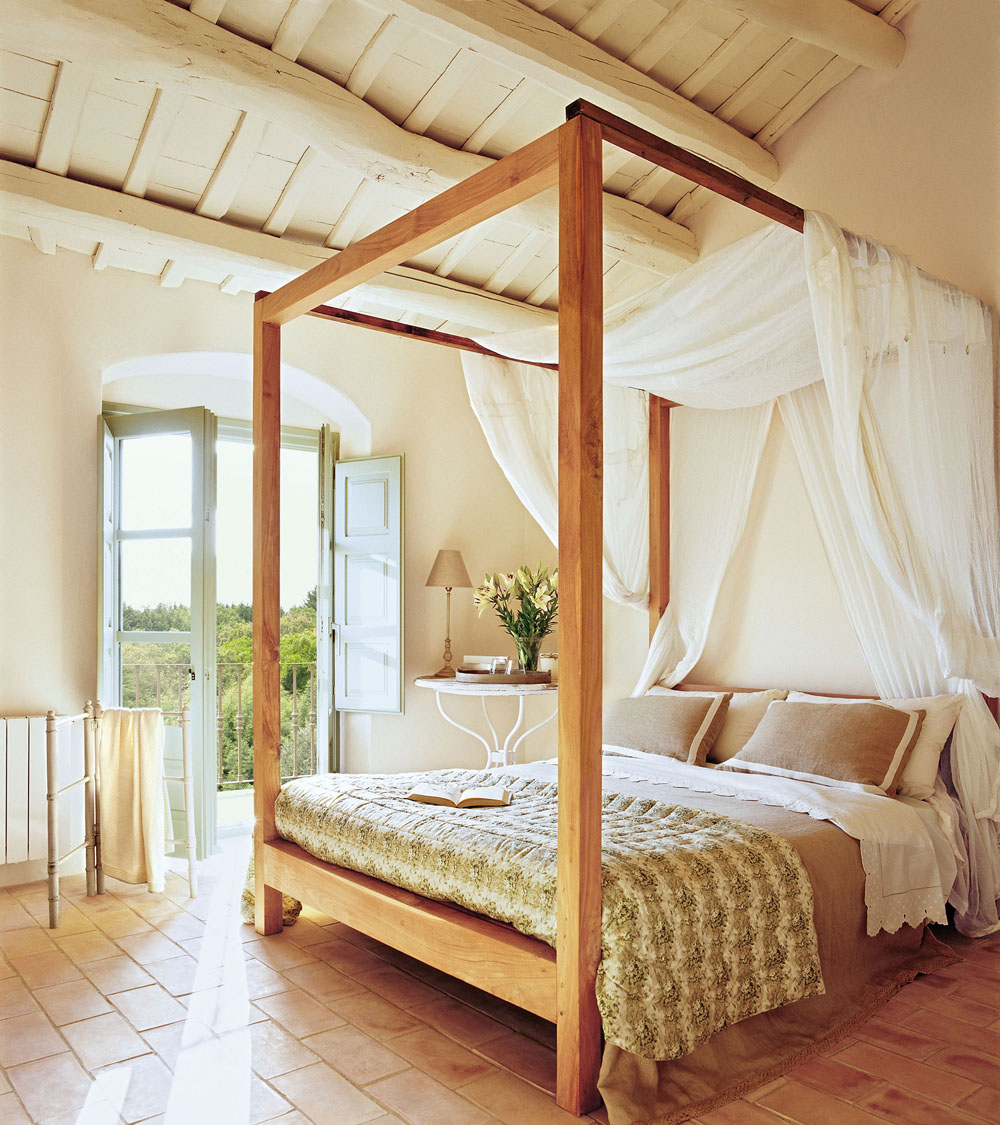 дизайн спальні з балдахіном