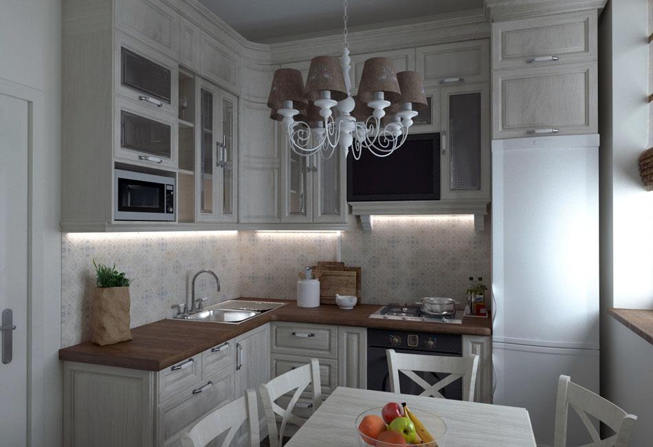 классическая кухня фото