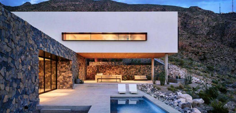 Наберите полную грудь воздуха: дом посреди горных вершин
