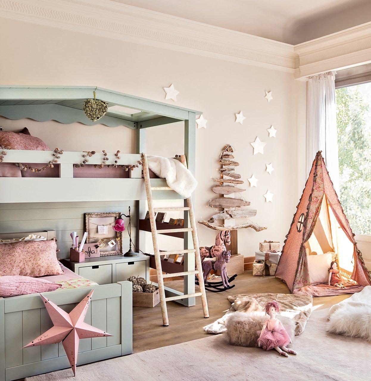 Sunday: 23 волшебные детские комнаты