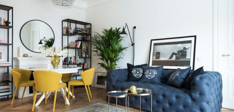 Стильная квартира с французским шармом (73 кв. м)