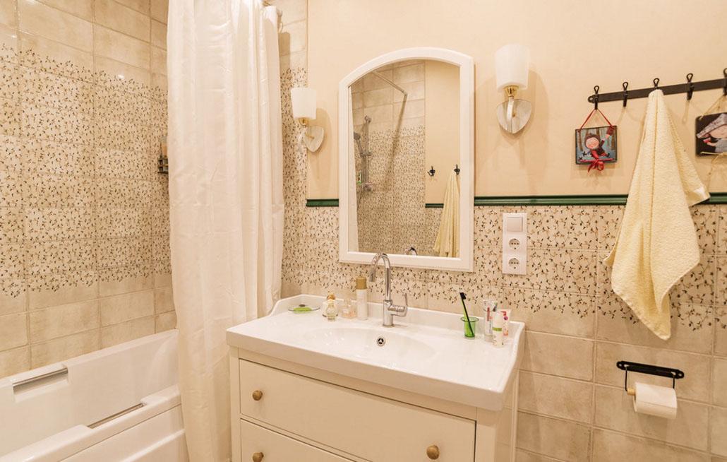 \дизайн маленькой ванной