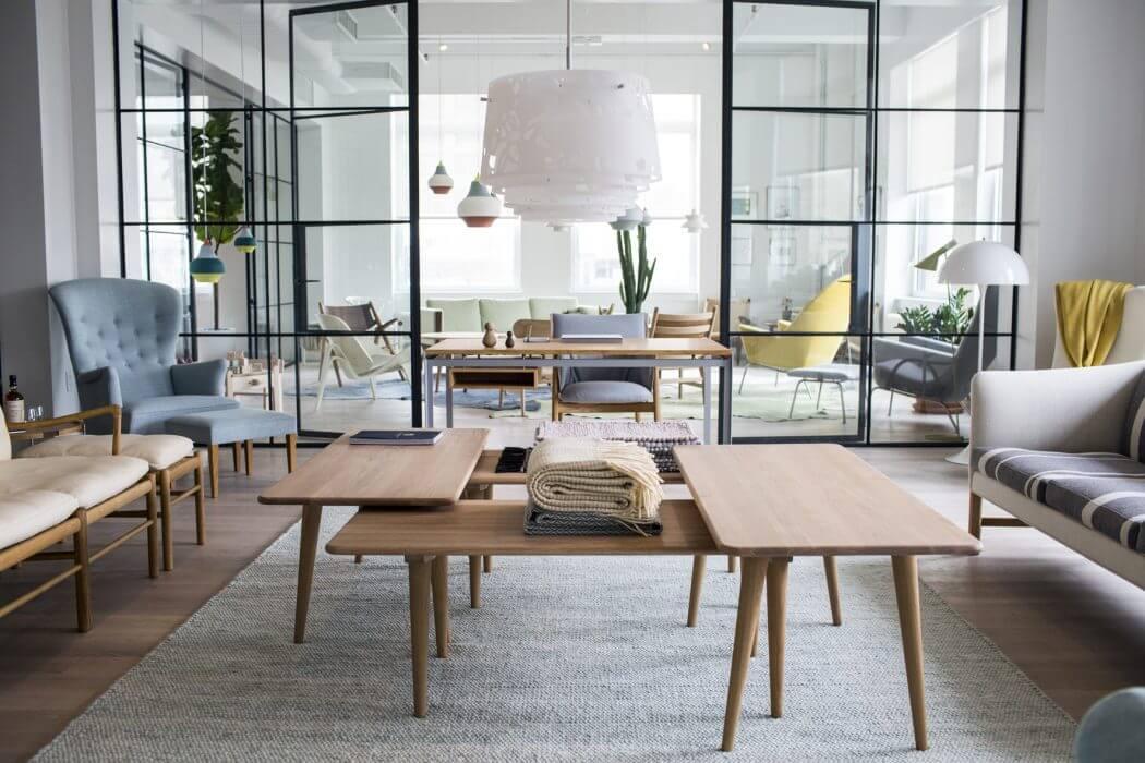 Дизайнерская мебель: стильный интерьер от Carl Hansen & Son