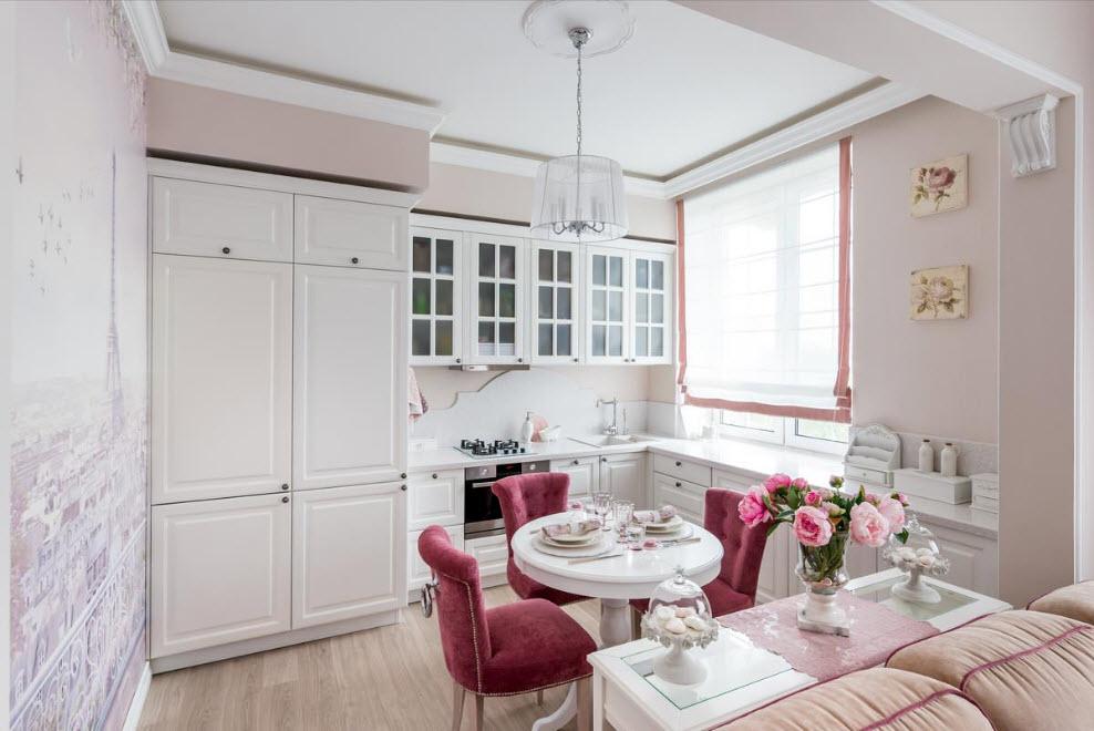 Кухня в стиле прованс: 24 фото + идеи