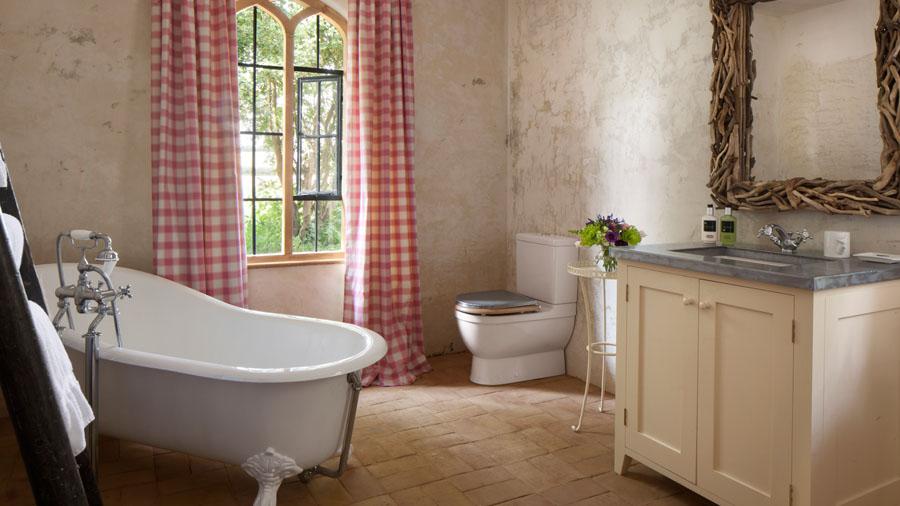 ванная в винтажном стиле