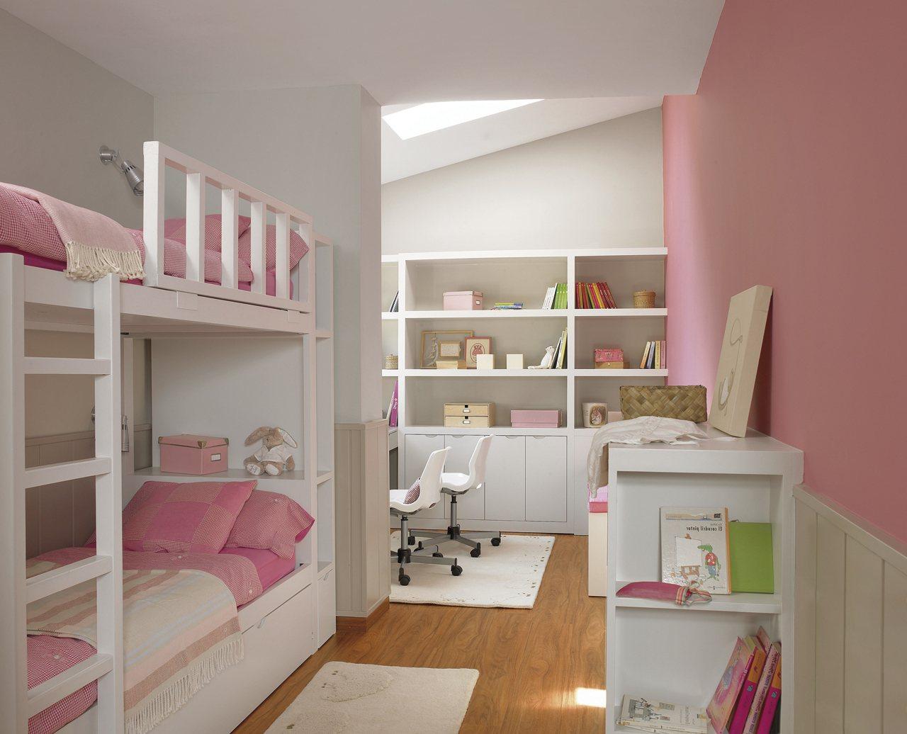 дизайн маленькой детской для двоих детей