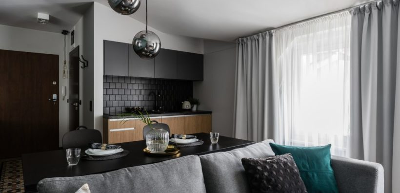 Стильный дизайн квартиры (36 кв. м) из Польши