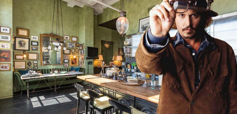 Джонни Депп: тур по неординарной квартире