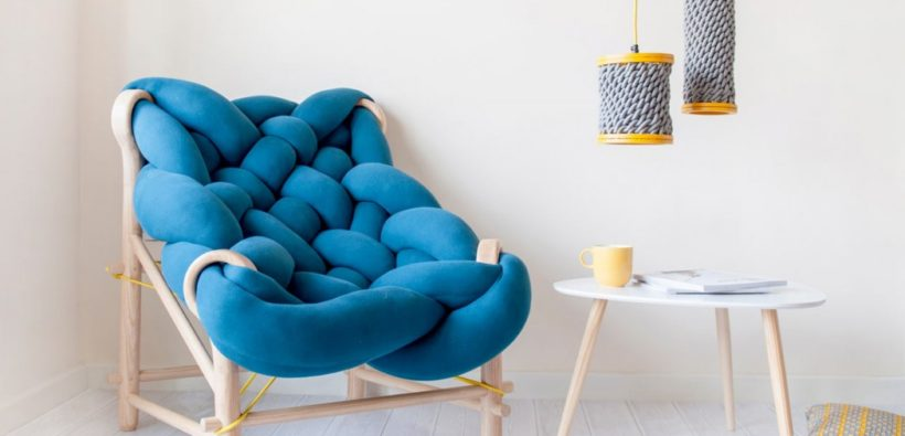 Очаровательное кресло-облачко от Veegadesign