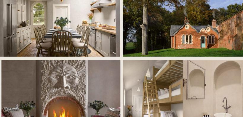 Атмосферный коттедж для семейного отдыха в пригороде Лондона