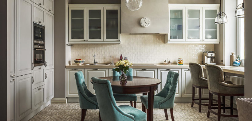 Красивый интерьер трехкомнатной квартиры от Натальи Сорокиной