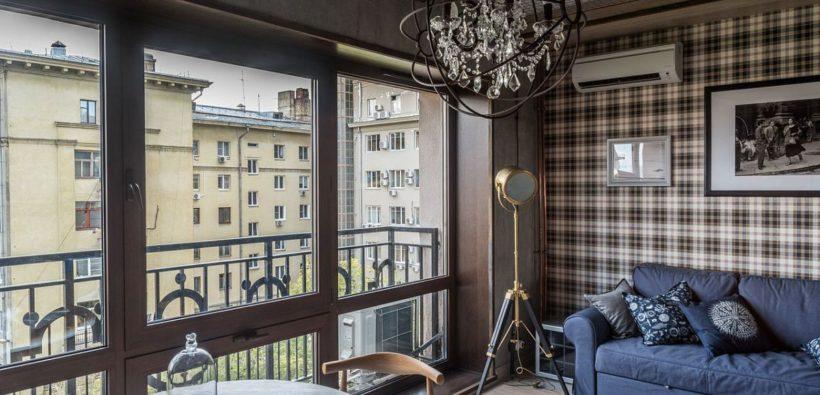 Стиль лофт: дизайн маленькой квартира (33 кв. м)