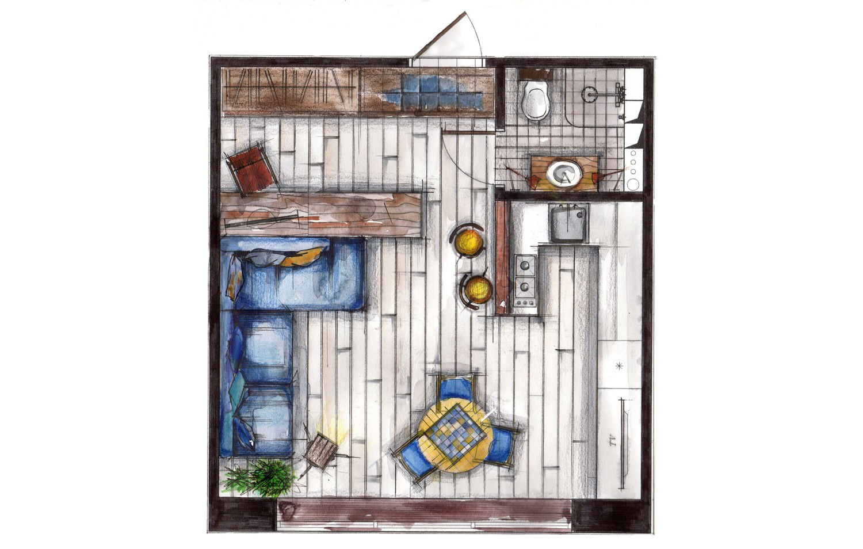 план маленькой квартиры