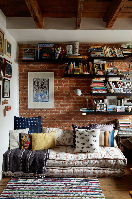дизайн библиотеки дома