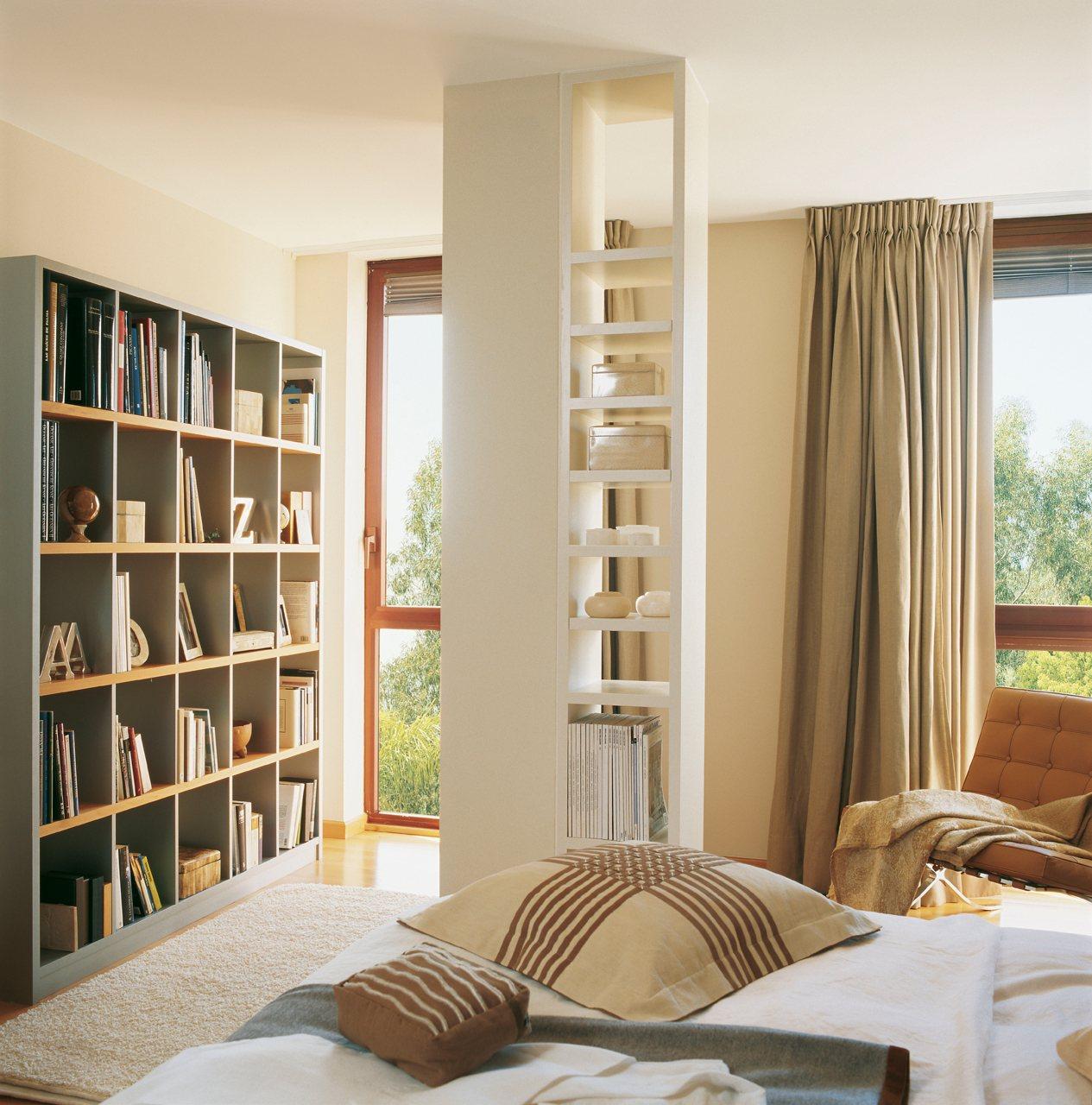 интерьер библиотеки дома