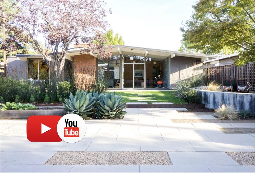 Красивый сад и мини-огород из Калифорнии + видео