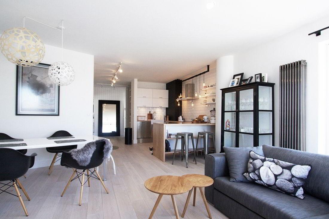 Стильная квартира в скандинавском стиле из Польши