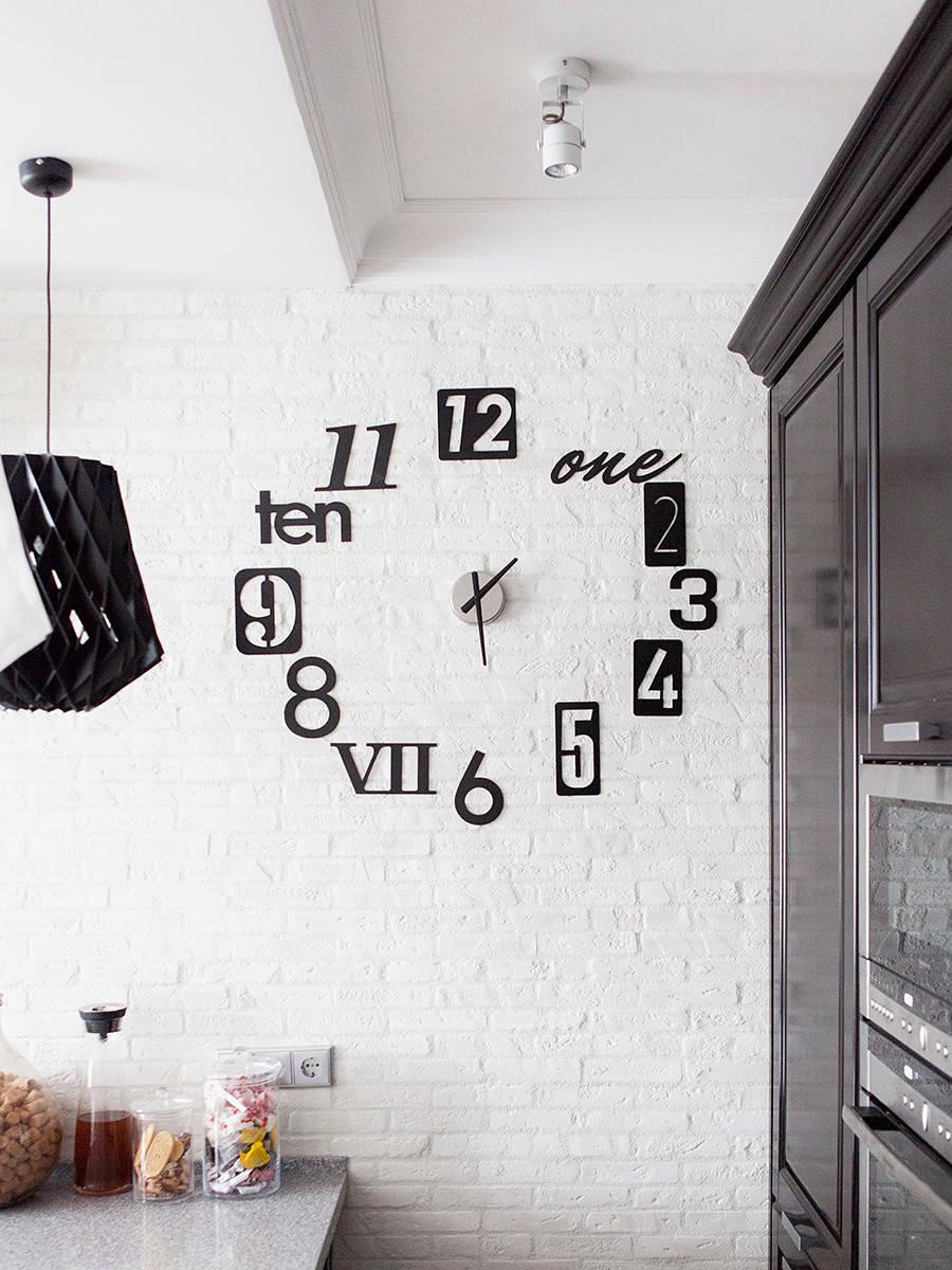 оригинальные часы на стену