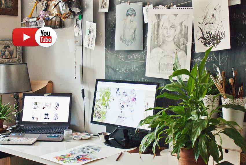 Рабочее место дома в скандинавском стиле: 14 фото-идей