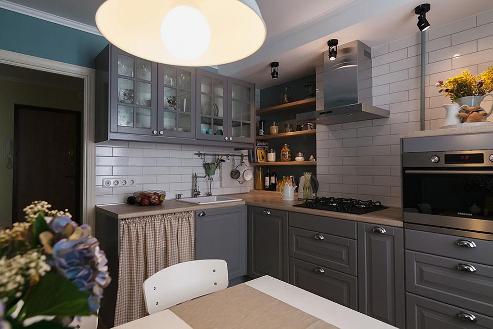 дизайн кухни (10 кв. м)