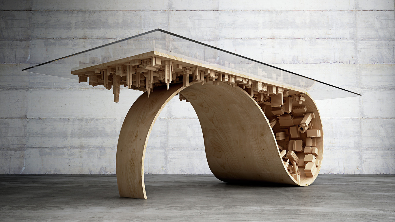 Wave City Table
