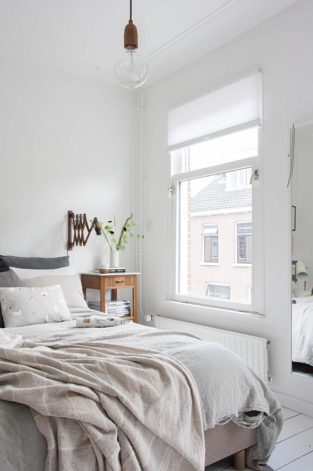 спальни в скандинавском стиле