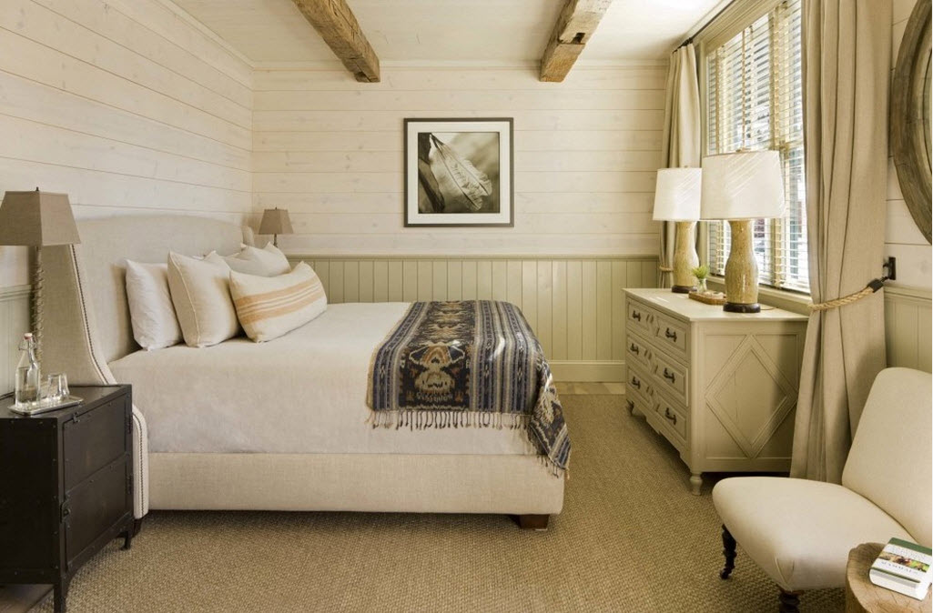 Как создать спальню в стиле кантри