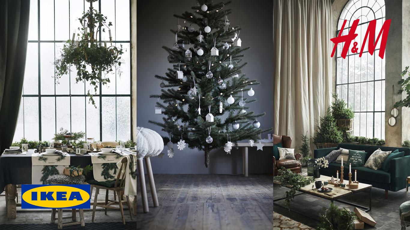 Ikea + HM Home: 43 фото зимней красоты